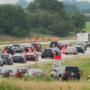 Heavy traffic on I-57 didn't stop drivers from enjoying the Solar Eclipse