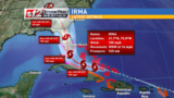 Hurricane Irma weakens to category 4 storm with 150 mph winds