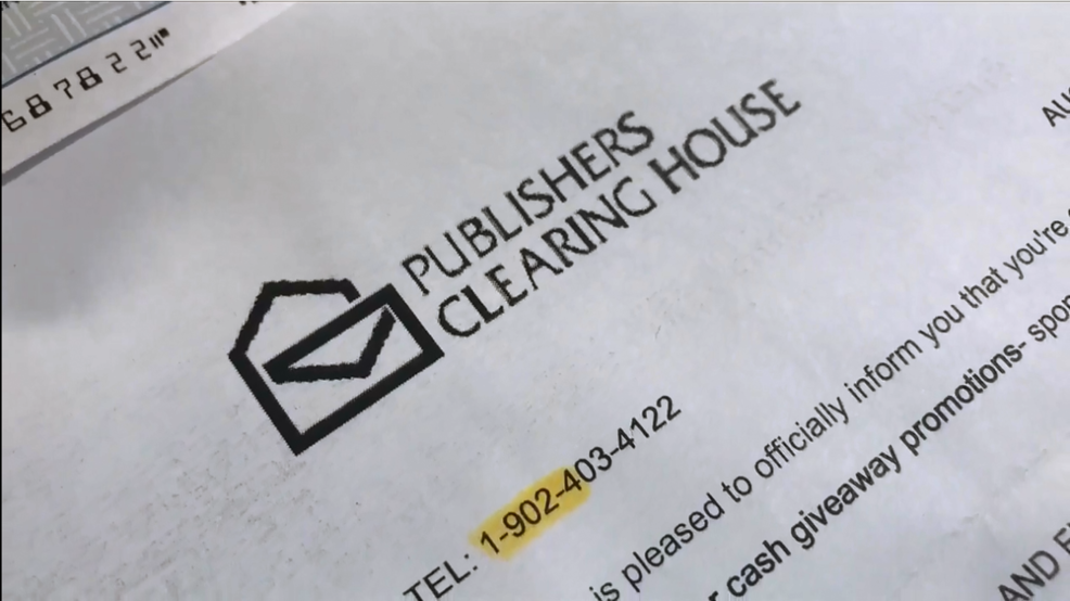 Publishing Clearing House Check