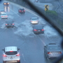 Heavy rain causes flooding, traffic back up on I-95 north