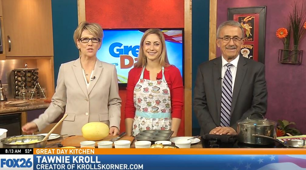 Tawnie Kroll visited the Great Day Kitchen to prepare some delicious food<p></p>