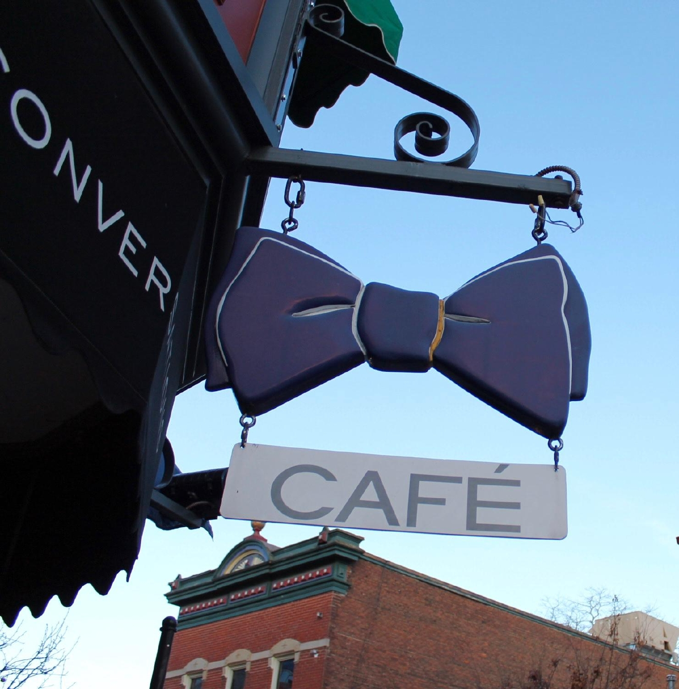 Bow Tie Cafe serves hand-crafted espresso drinks, casual bistro fare (including a weekend brunch menu), and coffee-inspired craft cocktails. They are located at 1101 St. Gregory St. (45202). / Image: Rose Brewington // Published: 1.4.17