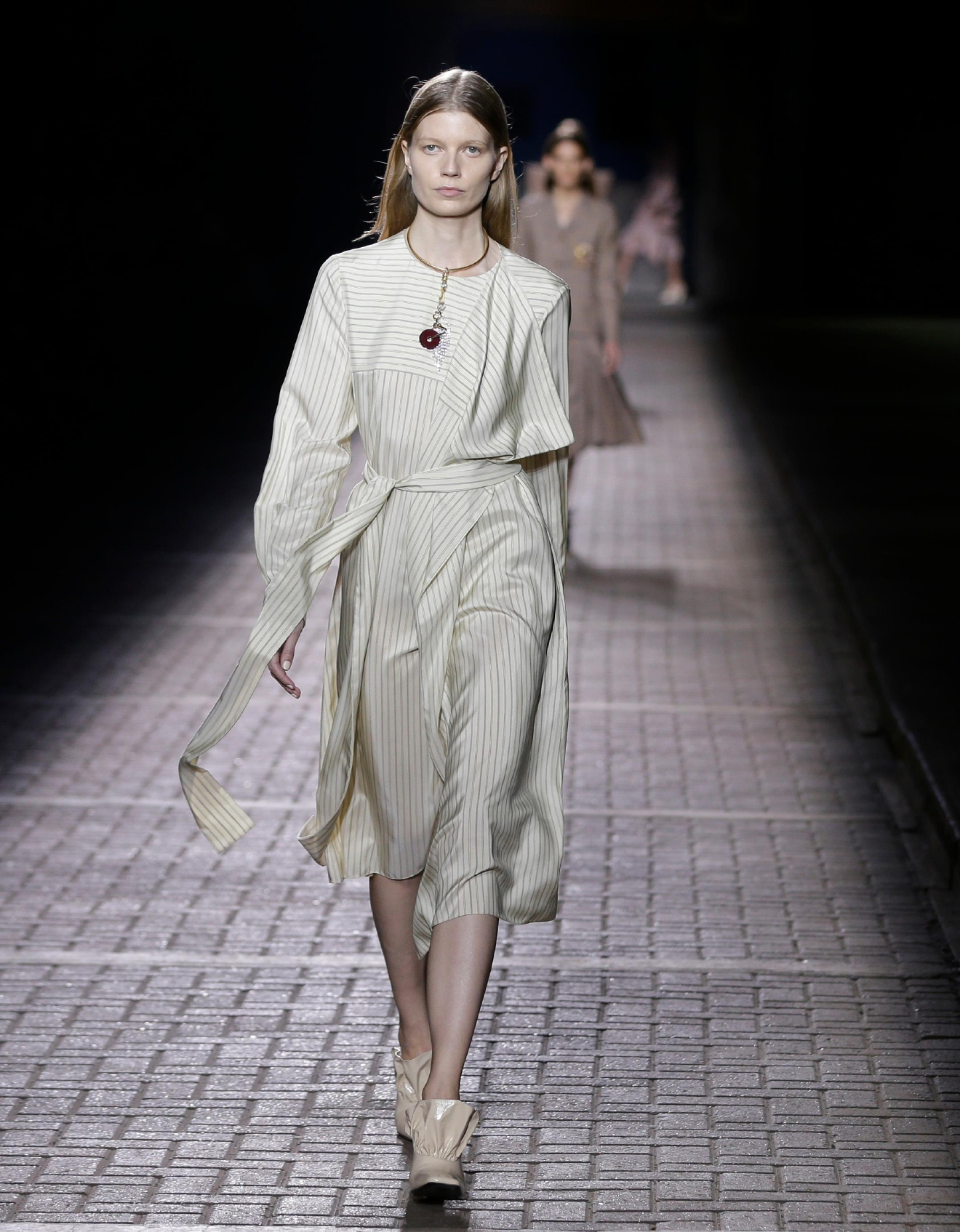 Models at london fashion week 54