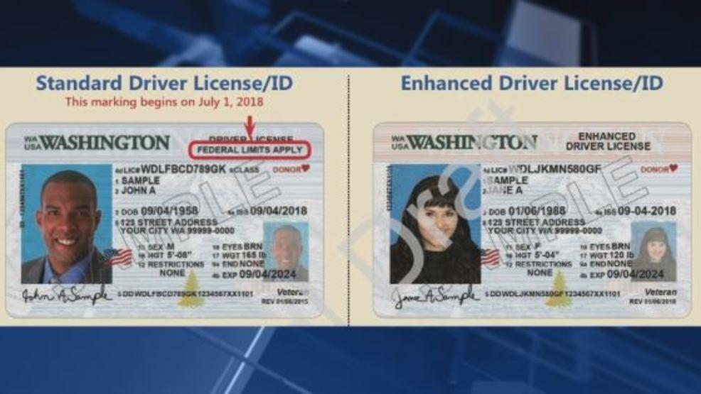 enhanced drivers license washington requirements