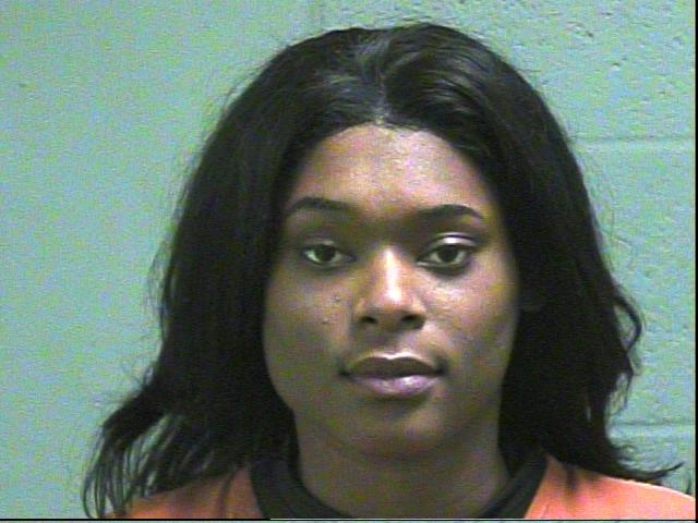 Chjarnishe Turner, 22, was arrested in Oklahoma City on complaints of unauthorized use of a computer and engaging in prostitution within 1,000 feet of a church/school. (Oklahoma County Jail)