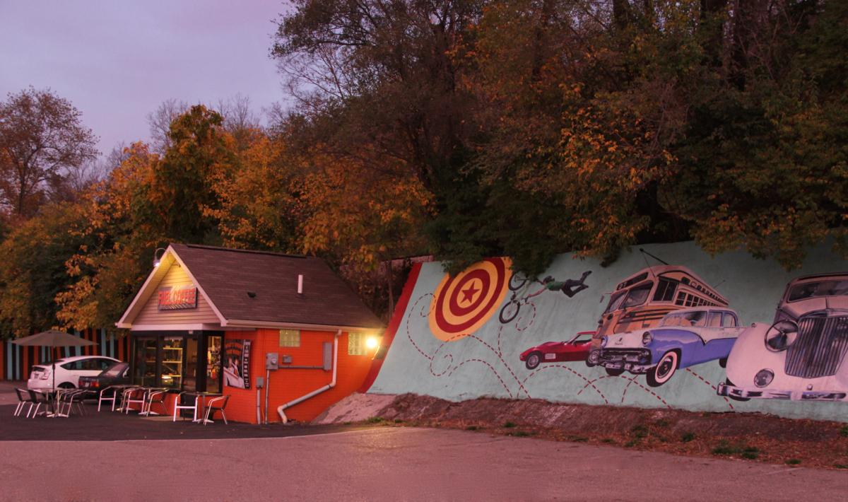 Fuel Coffee (on Riverside Dr. between Columbia Tusculum and Downtown). Get your engines going. / (Image: Clay Griffith / Cincinnati Refined)