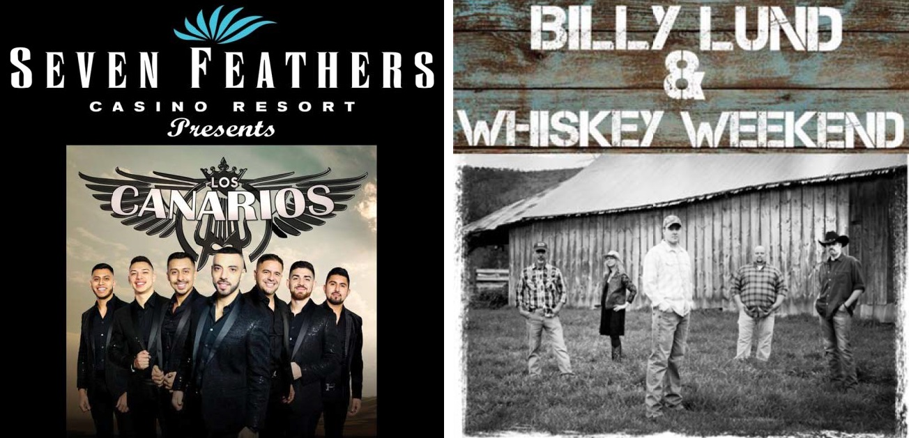Douglas County Fair entertainment at Garden Park Stage, August 12: Los Canarios at 6 p.m. and Bill Lund & Whiskey River at 9 p.m.  (Photo courtesy Douglas County Fairgrounds)