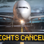 Flight cancelations at PNS, VPS ahead of Alberto