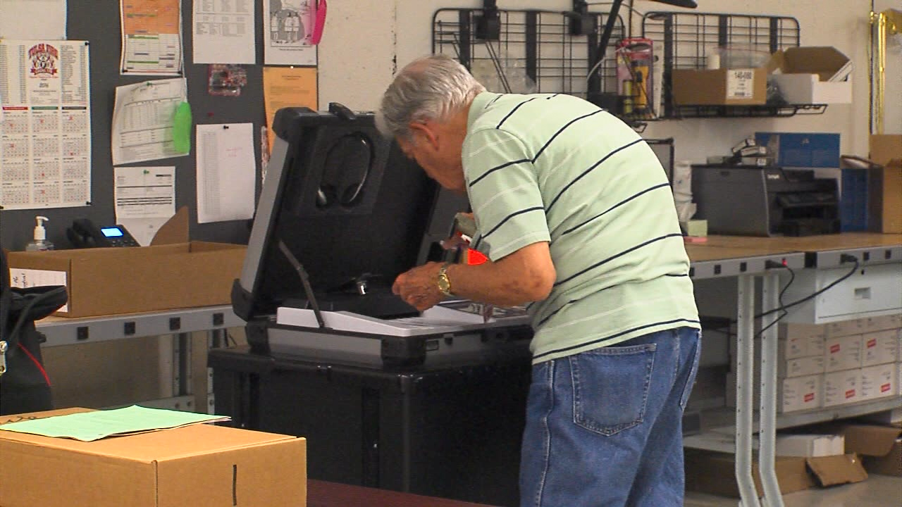 300 new poll workers will be taking part in the November election. (Wilson/KTUL)