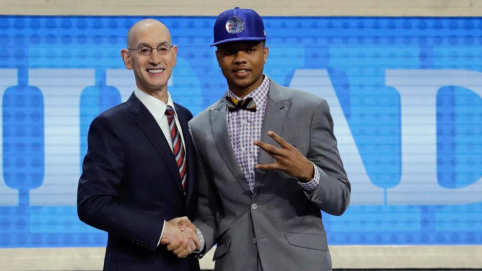 76ers take Ex-Husky Fultz with top pick in NBA draft