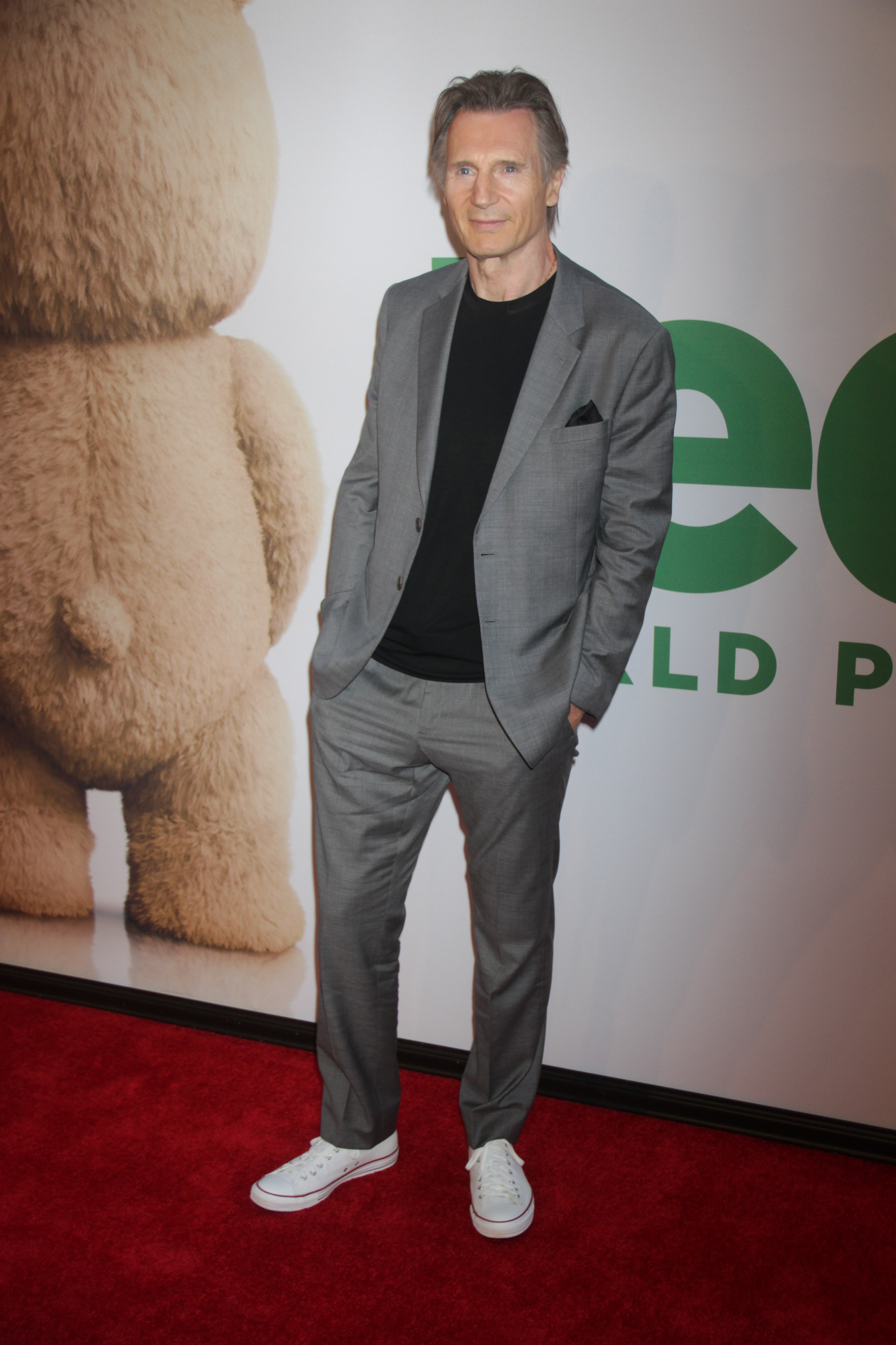 New York premiere of 'Ted 2' at the Ziegfeld Theater - Red Carpet Arrivals                                    Featuring: Liam Neeson                  Where: New York City, New York, United States                  When: 24 Jun 2015                  Credit: Joel Ginsburg/WENN.com