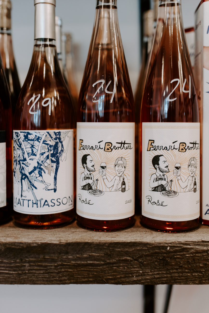 2018 Ferarri Brothers Rosé / Image: Brianna Long // Published: 6.10.19