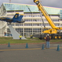 Watch:  'Holly,' Blue Angel jet, gets new home at the Museum of Flight