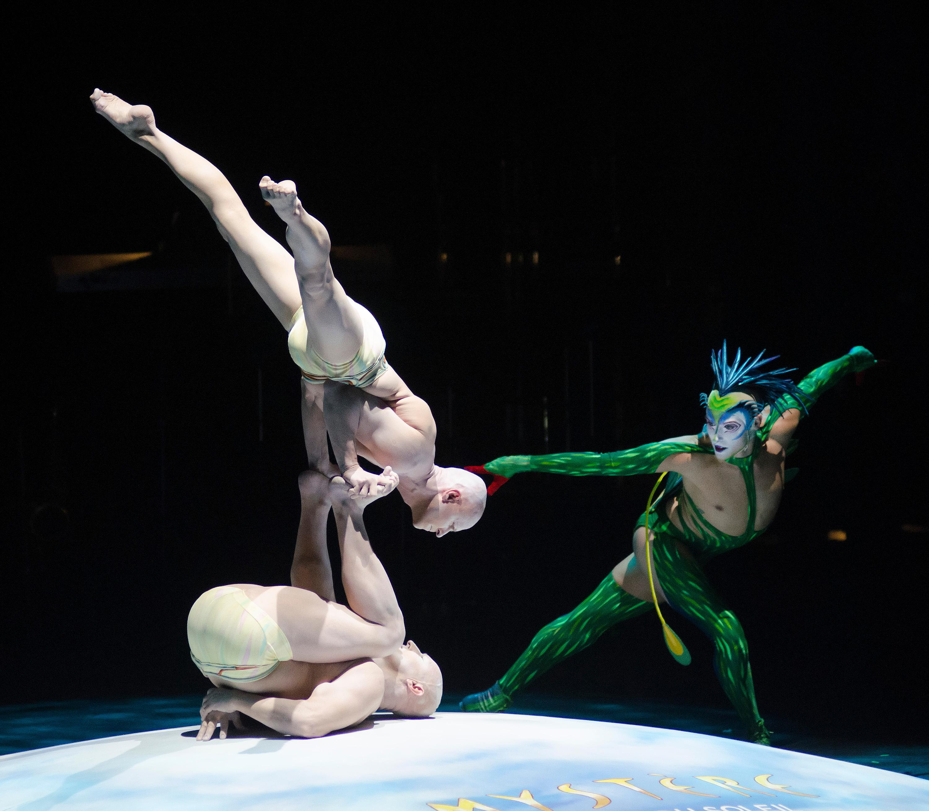 "Cast members from Cirque du Soleil perform during the ""Vegas Cares"" benefit concert at the Venetian Theatre in the Venetian hotel-casino at 3355 S. Las Vegas Blvd in Las Vegas on Sunday, Nov 5, 2017. The concert was sponsored by a group of Las Vegas entertainers, producers and business professionals to honor the victims and first responders from the 1 October shooting tragedy. CREDIT: Bill Hughes/Las Vegas News Bureau"
