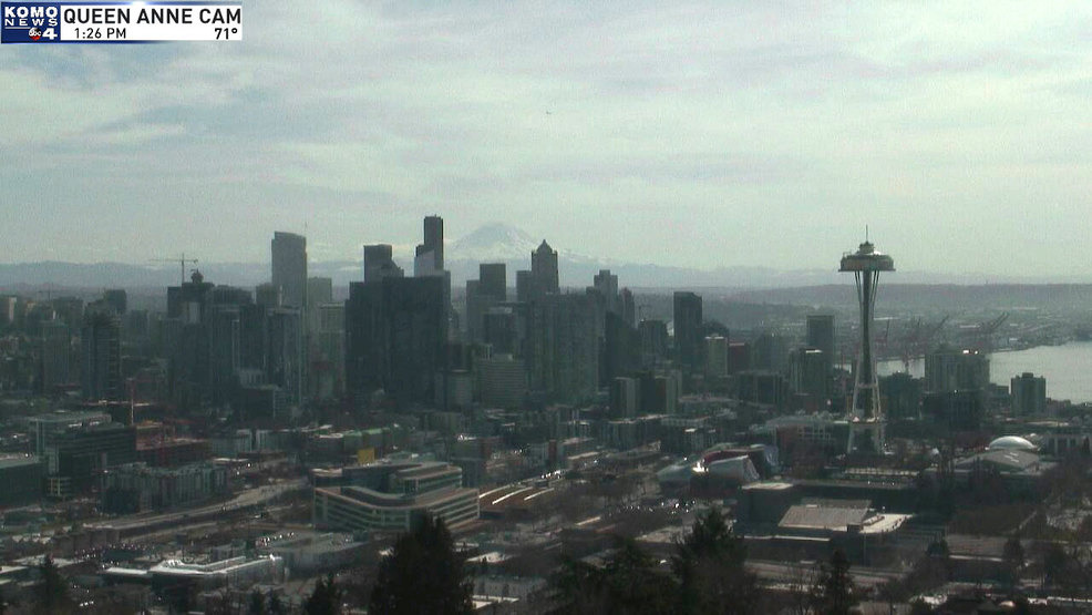 25 30 Seattle: What Winter? Seattle Hits Earliest Day Above 70 Degrees On