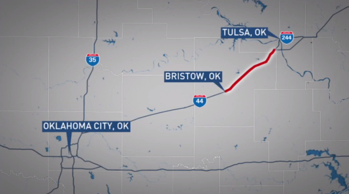 Construction begins Aug. 8 on a years-long expansion project along the Turner Turnpike.  For a 20-mile stretch between Bristow and Tulsa, lanes are being expanded from four to six. (KTUL)