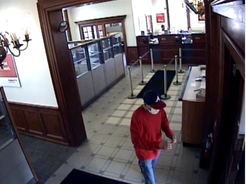 According to Rochester Police, a suspect entered the Key Bank on University Avenue around 12:55 p.m. (Photo: RPD)