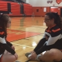 Special needs student welcomed to varsity cheer squad