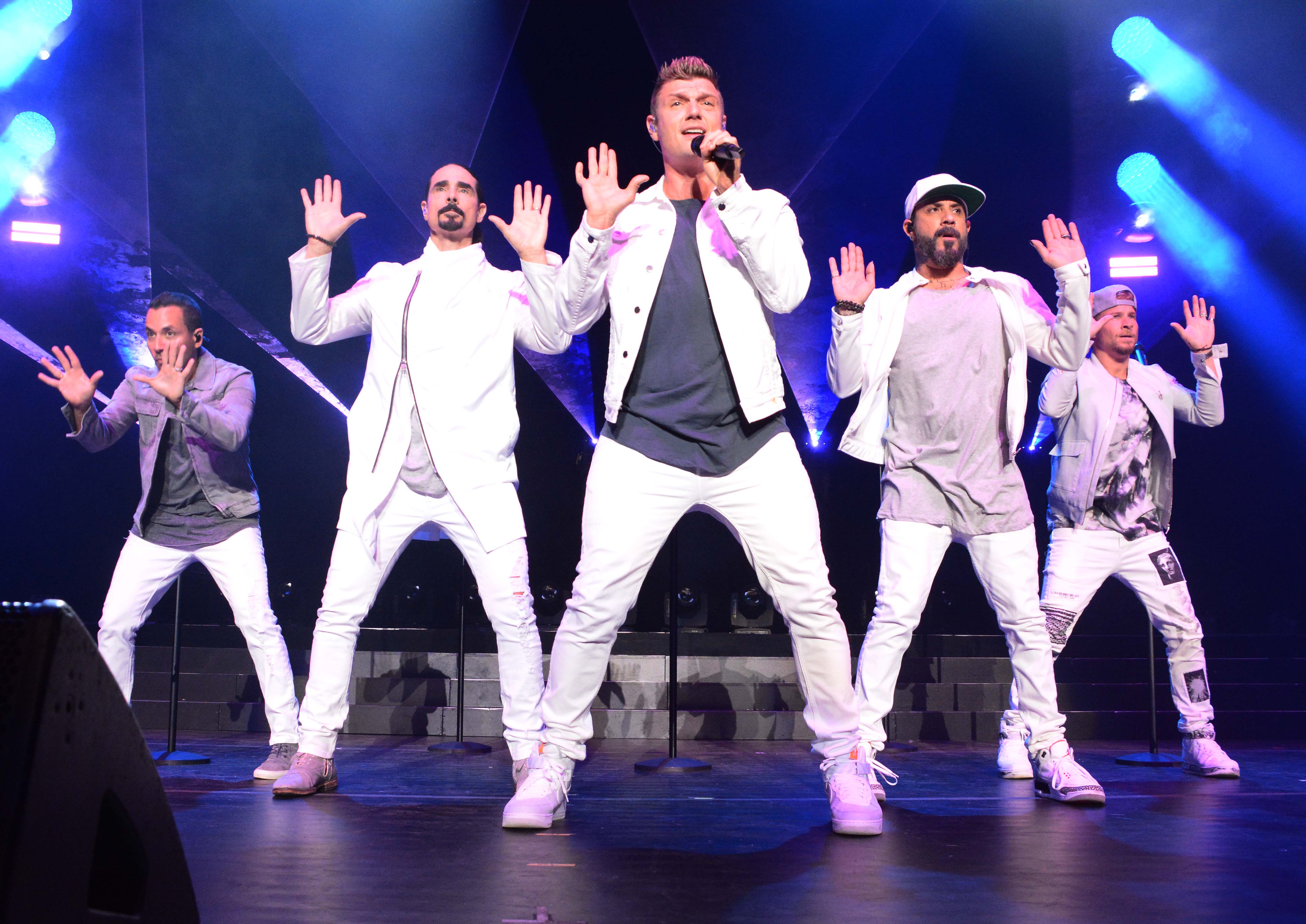 Backstreet Boys perform at The KTU Concert in Jones Beach NYFeaturing: Backstreet BoysWhere: Wantagh City, New York, United StatesWhen: 16 Jun 2018Credit: Patricia Schlein/WENN.com