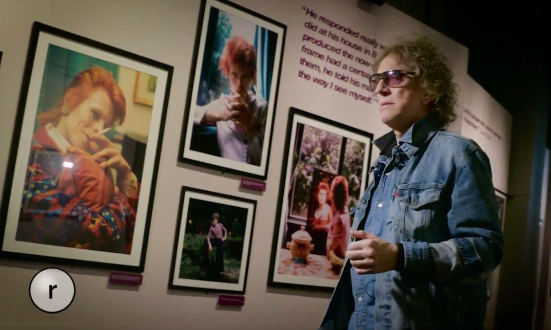 Mick Rock at MoPOP. (Image: Mick Rock)