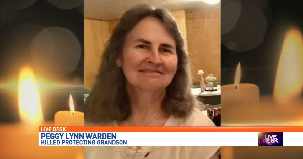 Peggy Lynn Warden, 56, was shot and killed while shielding her grandson, according to her family. Her grandson, 18-year-old Zachary Poston, was shot six times in the arms, legs and stomach. His family tells us he has just gotten out of surgery and is in stable condition. He says his grandma saved his life. (Photos courtesy of family){&amp;nbsp;}<p></p>