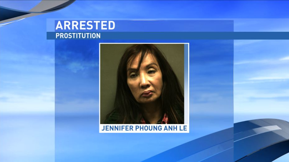 Jennifer Phoung Anh Le, 60, was arrested for prostitution following a months-long investigation by Amarillo police and the Department of Homeland Security. (Randall County Sheriff's Office)