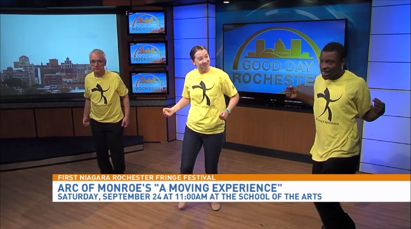 A Moving Experience from Arc of Monroe dance troupe