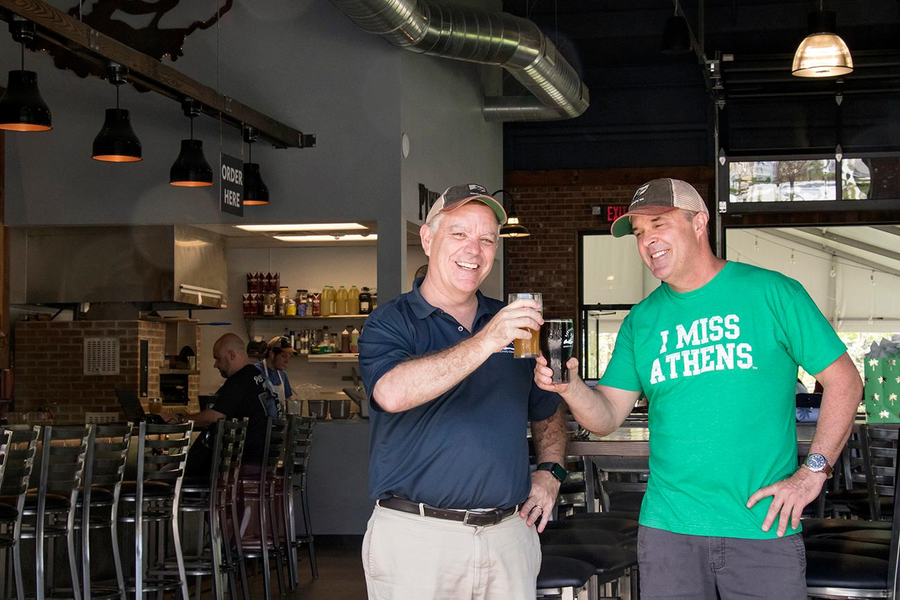 Dan Lynch and Joe Brenner, owners / Image: Allison McAdams // Published: 7.5.18