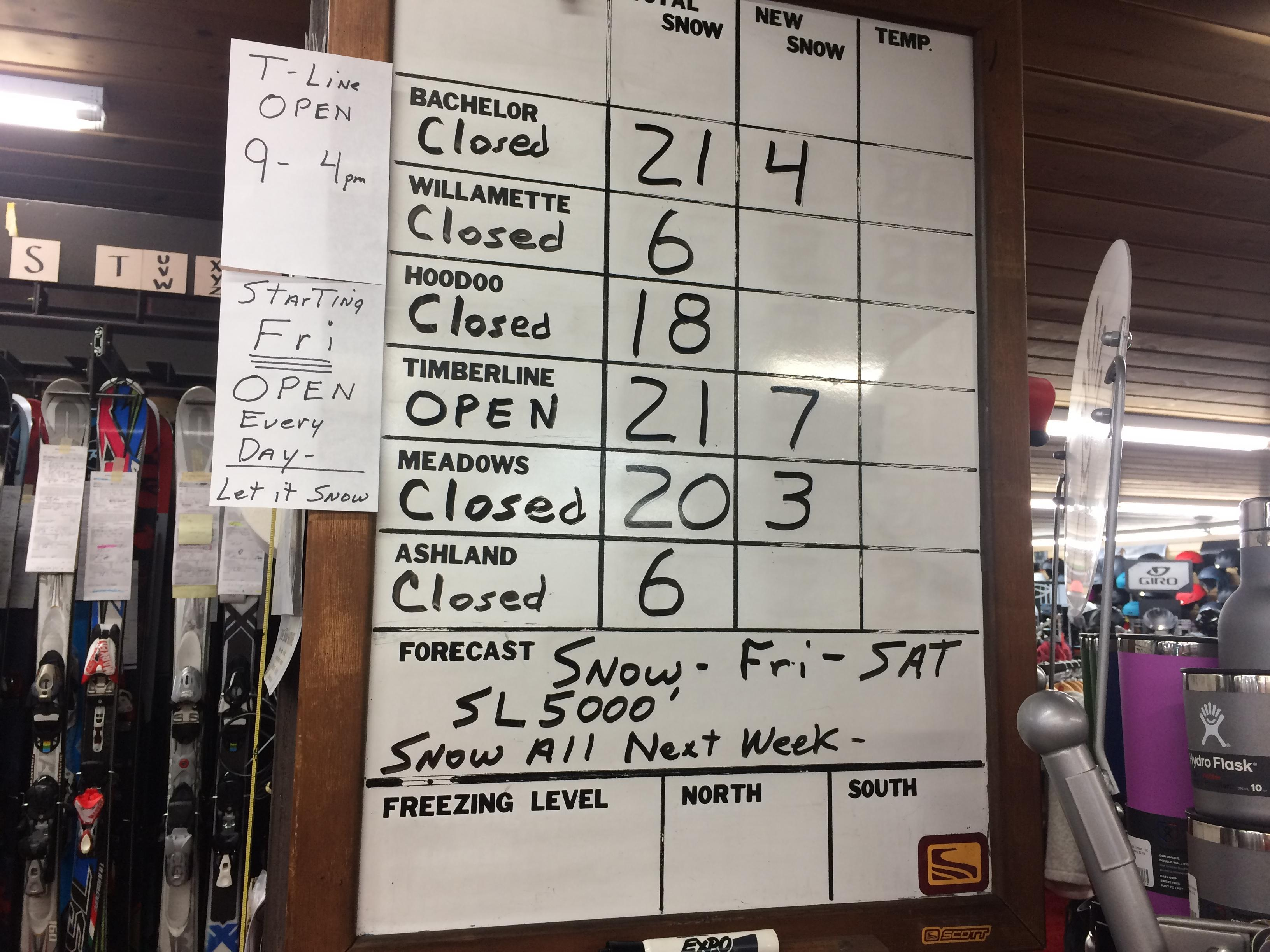 Berg's Ski Shop sees winter rush before snow season begins