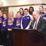 March 28 proclaimed WIU Leatherneck Women's Basketball Day in Macomb