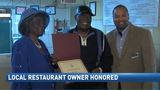 Restaurant owner Cozy Brown given honor for years of service to the community