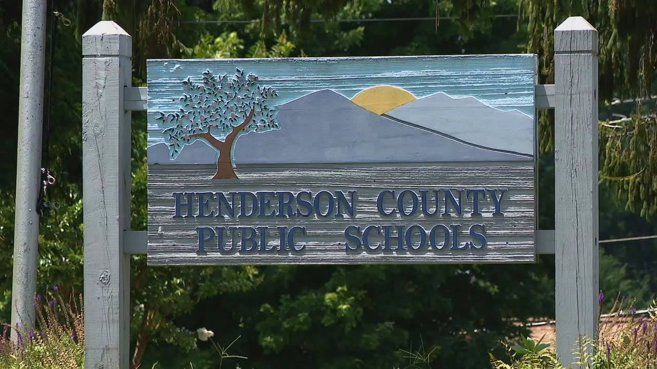The school board voted to waive a policy that required Henderson County student athletes to maintain a 2.0 grade point average in order to play sports. (Photo credit: WLOS staff)