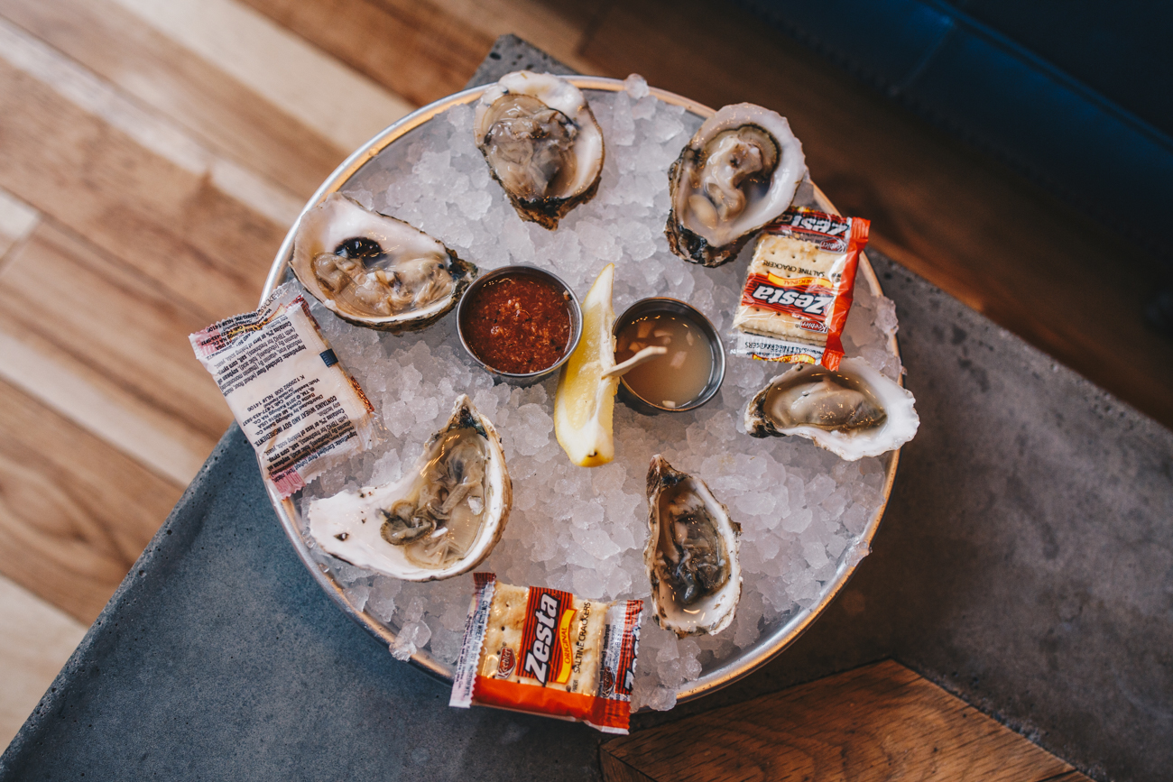Oysters on the half shell / Image: Catherine Viox // Published: 2.25.19