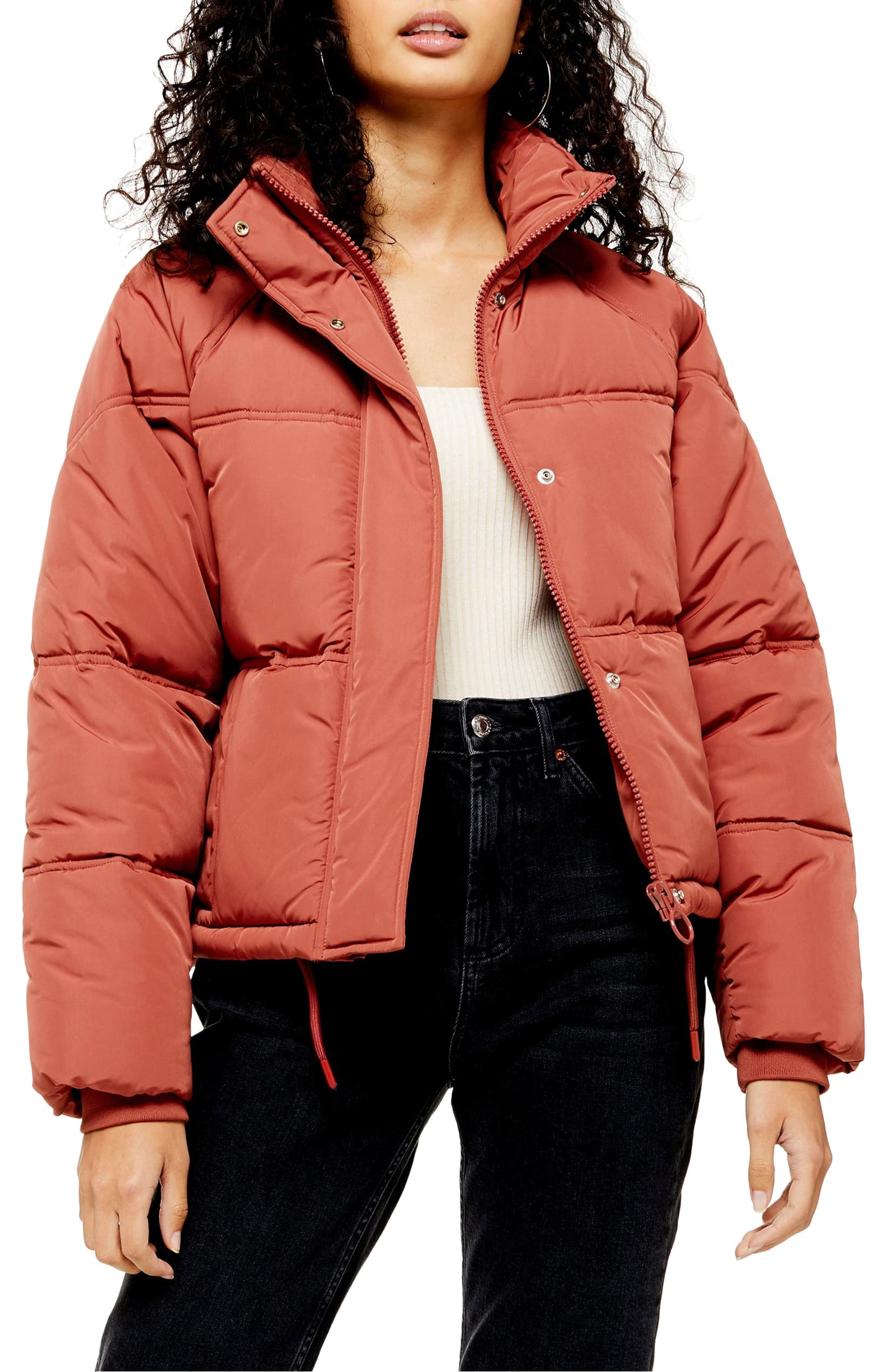 "<p>Stay warm in this perfectly puffed stand-collar jacket, cut in a modern cropped fit.{&nbsp;}<a  href=""https://shop.nordstrom.com/s/topshop-sasha-puffer-jacket/5451053/full?origin=category-personalizedsort&breadcrumb=Home%2FWomen%2FShop%20by%20Occasion%2FWinter%20Getaway&color=rose"" target=""_blank"" title=""https://shop.nordstrom.com/s/topshop-sasha-puffer-jacket/5451053/full?origin=category-personalizedsort&breadcrumb=Home%2FWomen%2FShop%20by%20Occasion%2FWinter%20Getaway&color=rose"">Shop it{&nbsp;}</a>- $100. (Image: Nordstrom){&nbsp;}</p>"