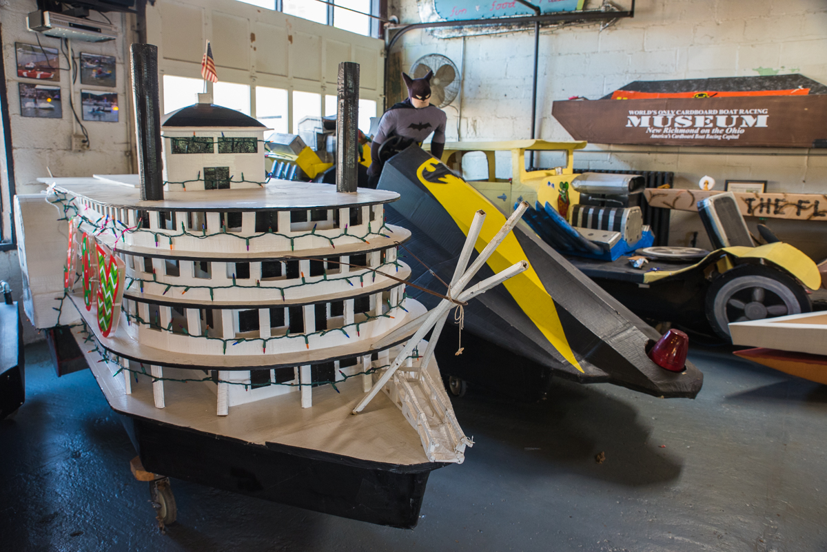 Cardboard Boat Museum is an eclectic repository for custom-built, paper-based river vessels located at 311 Front Street (45157). / Image: Sherry Lachelle Photography // Published: 5.22.17