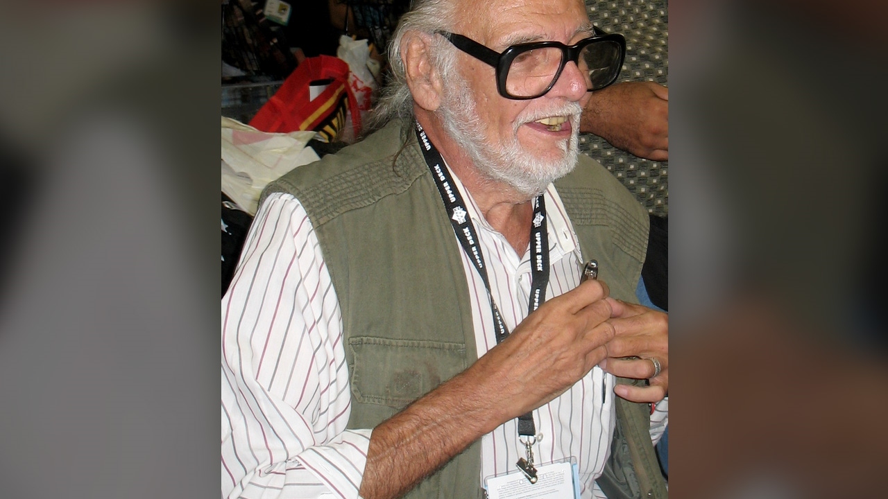 'Night of the Living Dead' creator George Romero dies at age 77. (Photo: MGN)