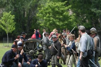 History comes alive at Virginia's Civil War reenactments