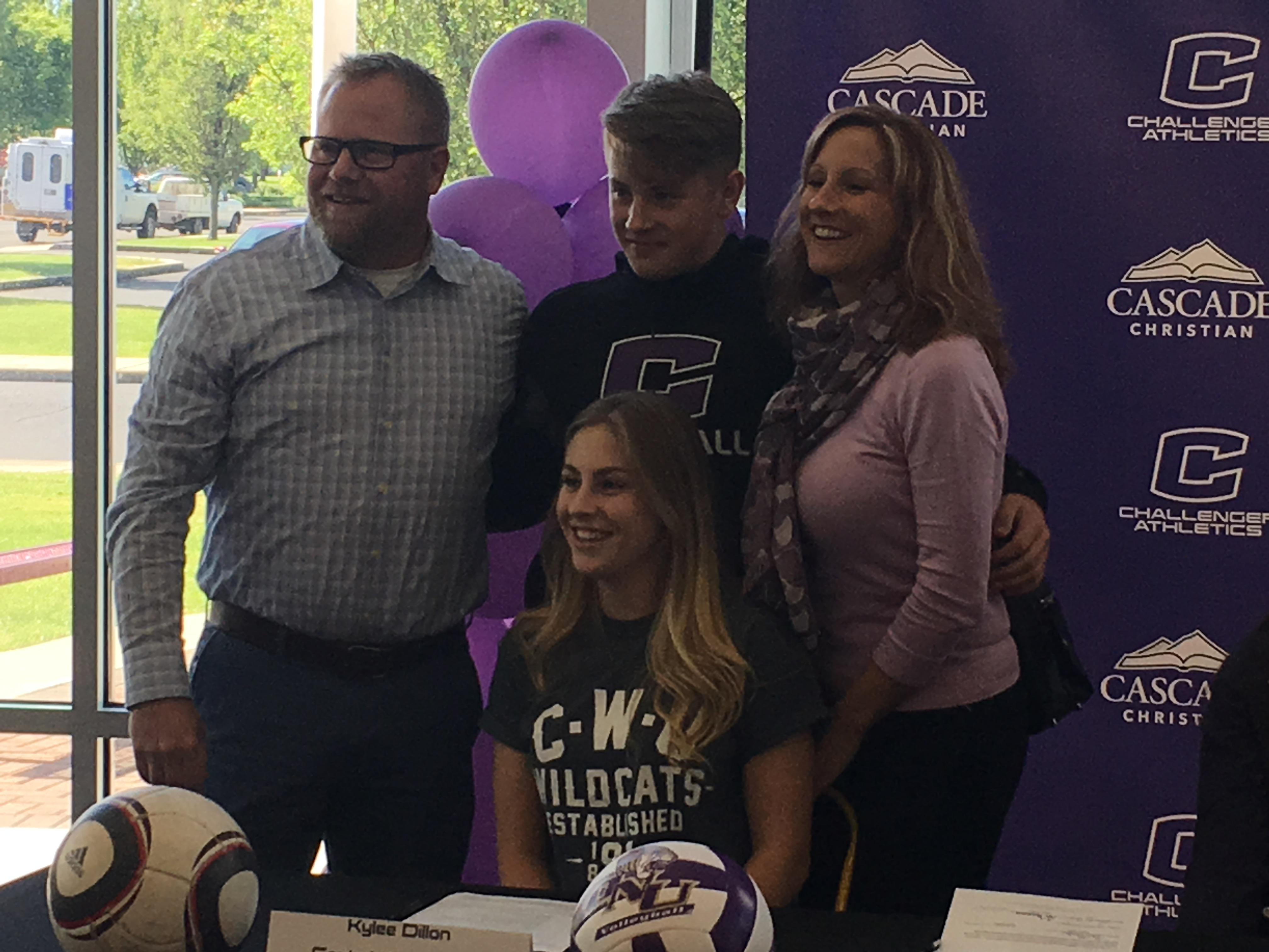 Kylee Dillon heads to Central Washington, an area she loves everything about. (KTVL/Aaron Nilsson)