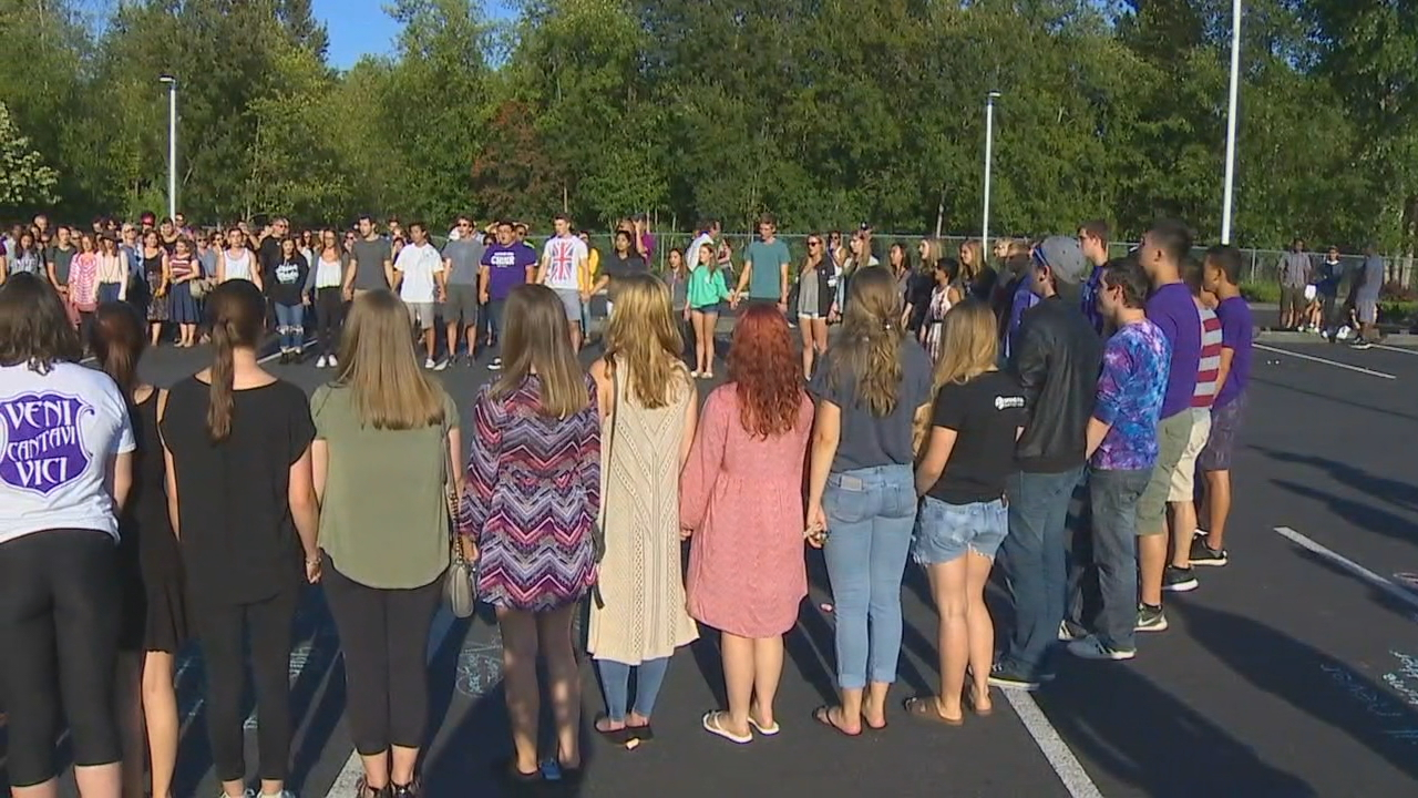 A vigil was held for the victims shortly after the shooting. (KOMO file photos)