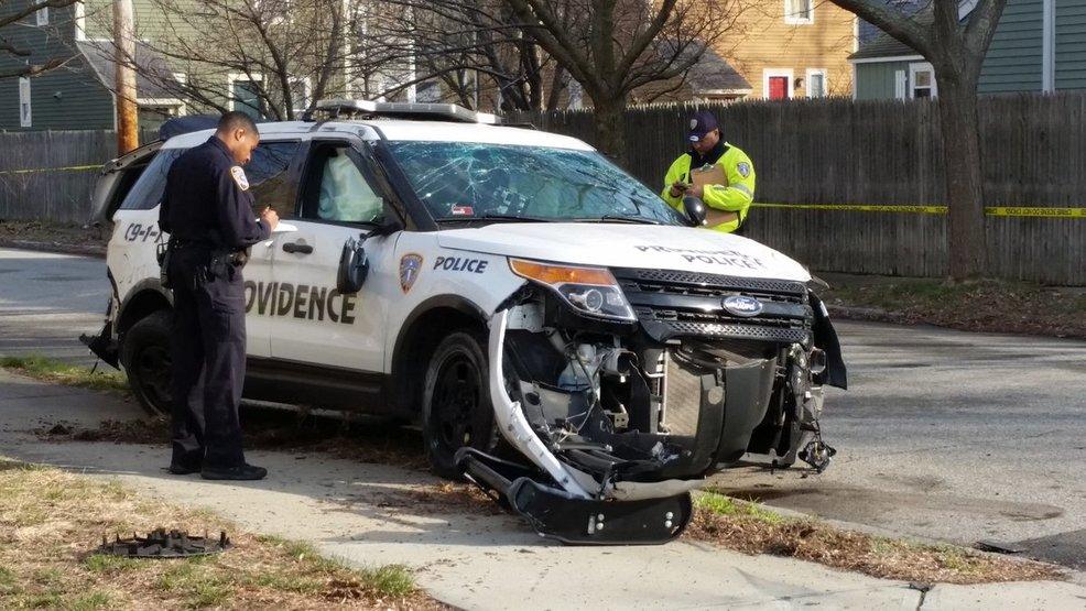 Providence police officer involved in crash | WJAR