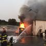 Fire destroys semi truck at rendering plant in Tukwila