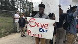 McIntosh High School students stage walkout in support of Principal
