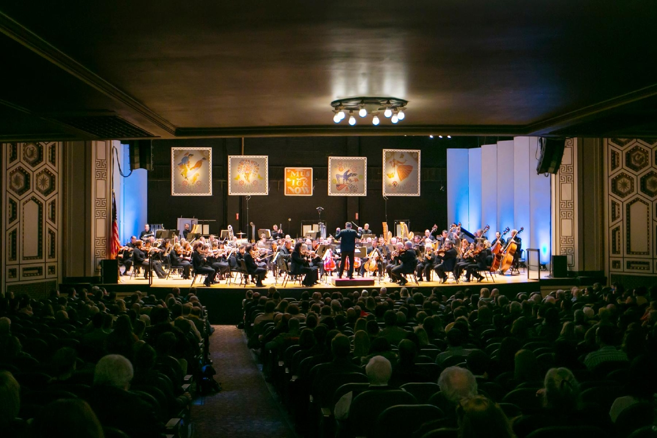 The MusicNOW festival hosted its eleventh year in Cincinnati at both the Aronoff Center and Taft Theatre. The second night of the festival was held at the Taft Theatre on January 14, 2017. The Cincinnati Symphony Orchestra and other contemporary music artists performed for a full house. / Image: Mike Bresnen Photography // Published: 1.15.17