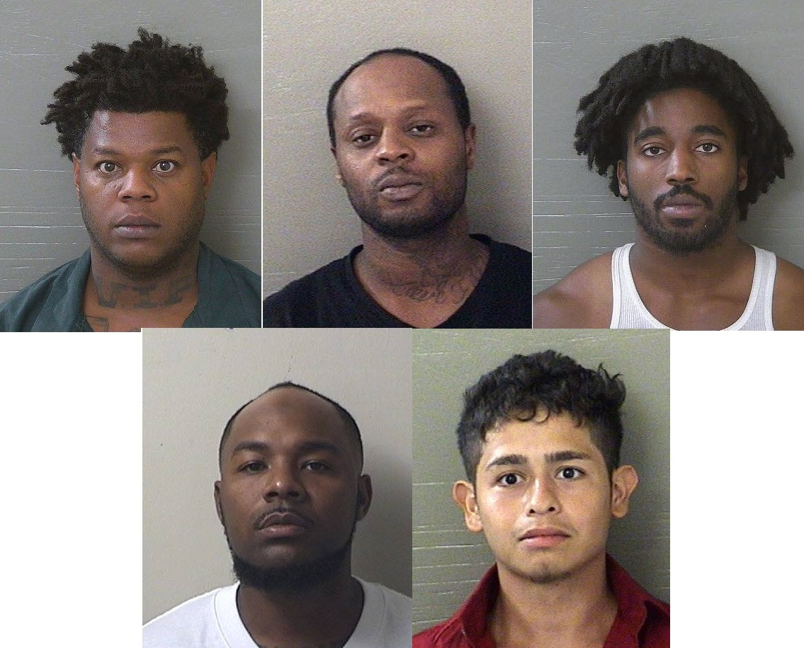 Five wanted for questioning only in West Jackson Street homicide.{ }