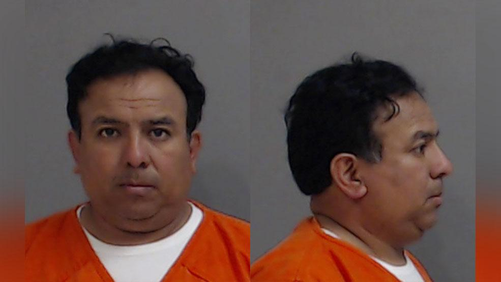 Fidel Castillo Jr., 47, of Donna was charged with online solicit of a minor sexual conduct, a second-degree felony, on Saturday. (Photo courtesy of the Hidalgo County Sheriff's Office)