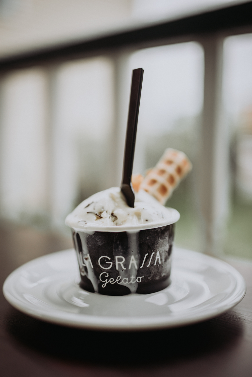 Chocolate chunk gelato / Image: Brianna Long // Published 5.24.18<br>