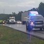 Pedestrian killed in single-vehicle crash on I-59