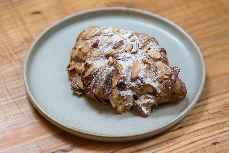 Almond croissant from Mainwood Pastry / Image: Phil Armstrong, Cincinnati Refined // Published: 3.12.18