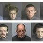 7 arrested for breaking into, stealing from home damaged by fire