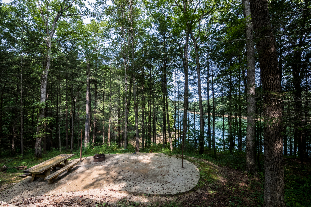 Laurel River Lake is a scenic spot that's located less than three hours south of Cincinnati inside the Daniel Boone National Forest outside of Corbin, KY. The lake is surrounded by picnic areas, shelters, campgrounds, boat ramps, a marina with boat rentals, and plenty of convenient amenities that make for a great, outdoor weekend getaway. The photos in this gallery were taken in and around the Holly Bay Campground, which sits on the west side of the lake. ADDRESS: 395 Laurel Lake Road, London, KY (40744) / Image: Catherine Viox // Published: 10.13.20